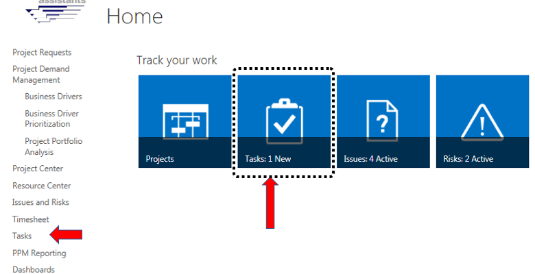 Tracking Progress Using Project Web App - Project Assistants